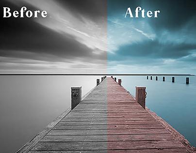 Black & White to color conversion