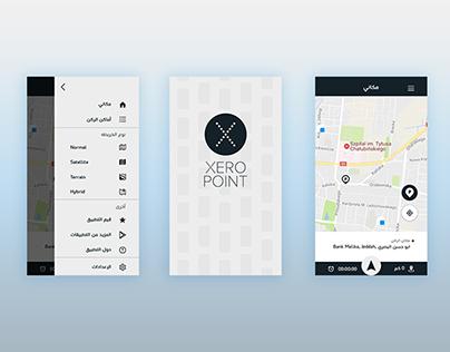 Xero Point App UI/UX