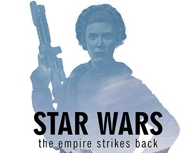 Star Wars Minimalist Fanart Poster Series
