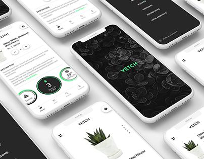 Vetch - Online Plant Selling App Concept.