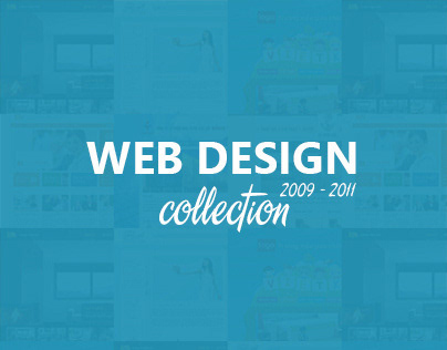 Web Design Collection 2009 - 2011