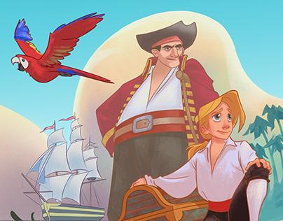 Jim et les pirates (Treasure Island adaptation)