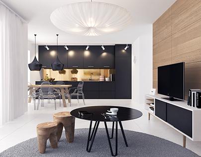 Apartment 01_ Living room
