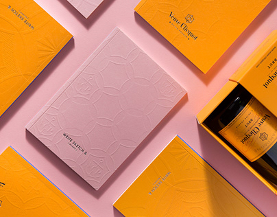 Veuve Clicquot by Write Sketch & | Notebooks design