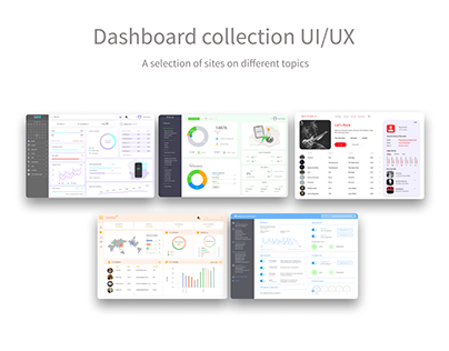 Dashboard collection UI/UX