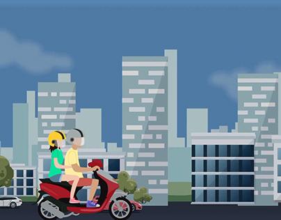 Vídeo Segurança do motociclista