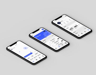 Car Service Concept Application