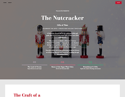 Nutcracker Afternoon Tea Campaign