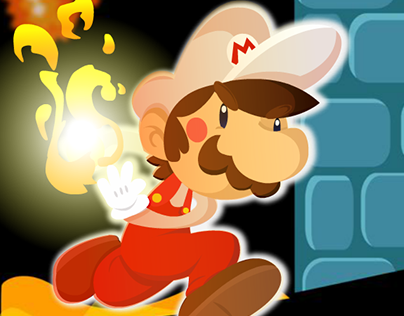 Super Mario Bros 1_Fan Art