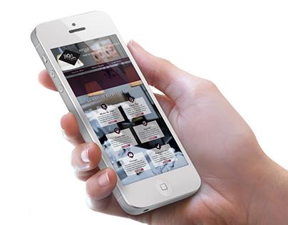 Web / Responsive Design — Adaptation For Smartphones