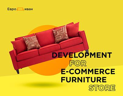 Web development and Design for furniture store