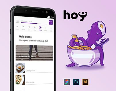 Hoy App. UX / UI