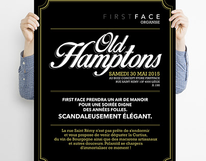 Old Hamptons Affiche Event