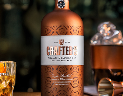 Crafter's Copper Distilled Gin