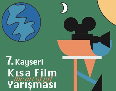 Kısa Film Fest. Afişi