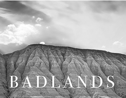 Textures of the American Badlands