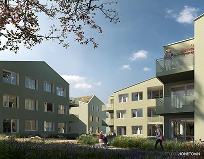 Wohnbebauung Wien