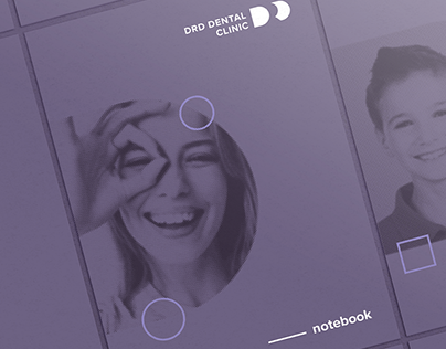 DRD DENTAL CLINIC / Brand identity