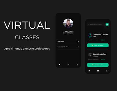 Virtual Classes App UI