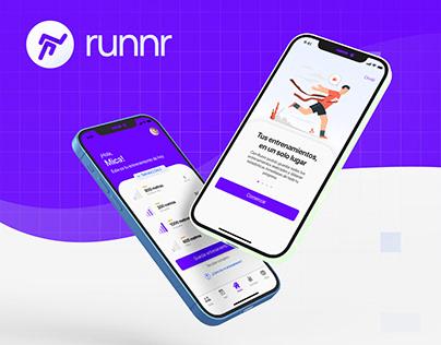UX/UI - runnr