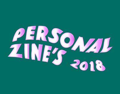 Personal Zine's 2018