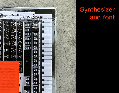 Synthesiser and font