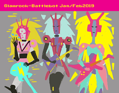 Feb2019 Tranz/Glamrock-goddess-battleband-bots