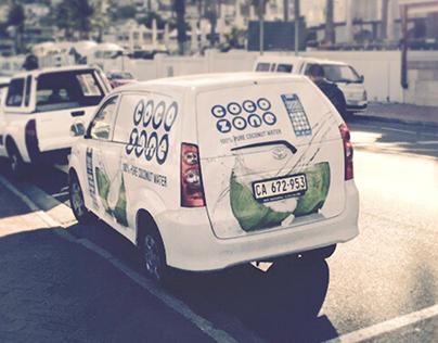 Vehicle Branding - CocoZone