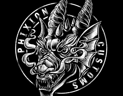 Phixion Customs - Logo