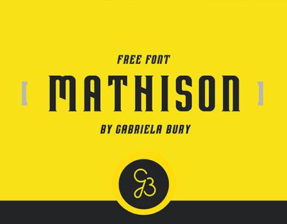 Mathison - Free Font