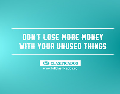 Losing money - Full Clasificados.