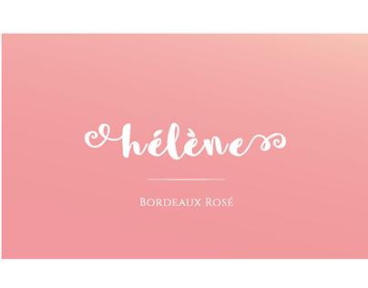 Bordeau Rosé // Branding