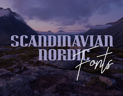 25+ Incredible Scandinavian Nordic Fonts
