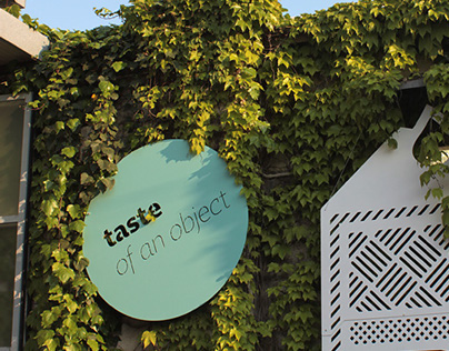 Taste of an object exhibition