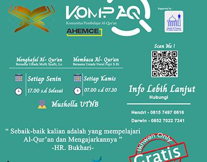Quran Club Event Invitation