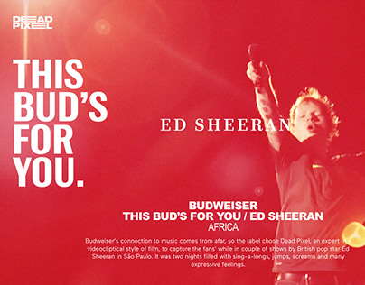THIS BUD'S FOR YOU - ED SHEERAN