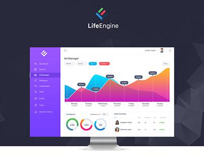 Life Engine UI/UX Design