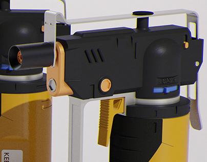 Torch gun - concept