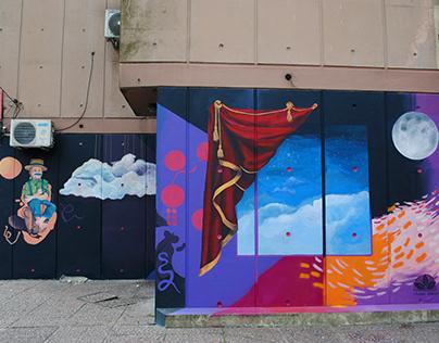 Mural por las infancias