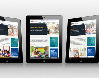 Child Care Aware - Website Refresh