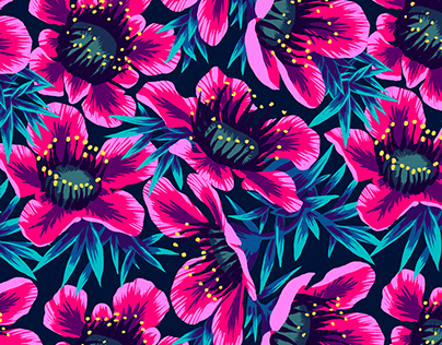 Manuka Floral Pattern