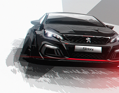 308RCTRACKDAY EDITION BYFACTORY CAR RENDERS (2020)