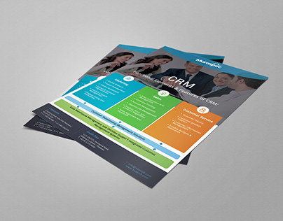 CRM Flyer Design