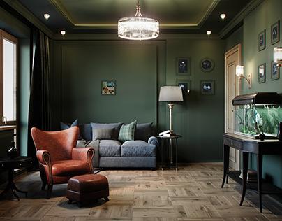 N34 - 05 Living room