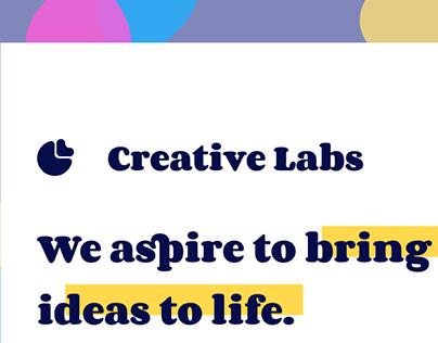 Creative Labs: Rebranding & UI/UX