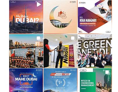 MAHE Dubai/ Branding and Social Media