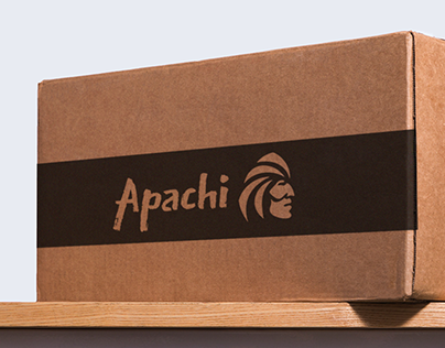 Apachi. Brand & packaging design for chocolate bars