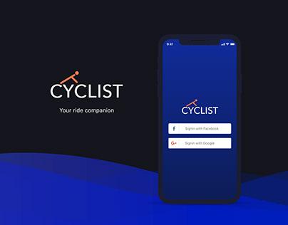 Cyclist - Your Ride Companion - App Concept