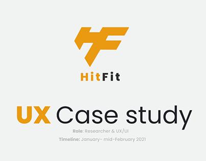 UX Case Study: HitFIt