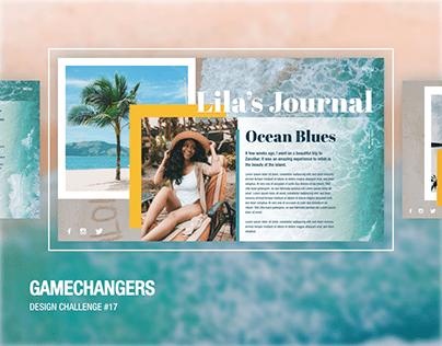 Lila's Journal [Gamechangers Design Challenge]